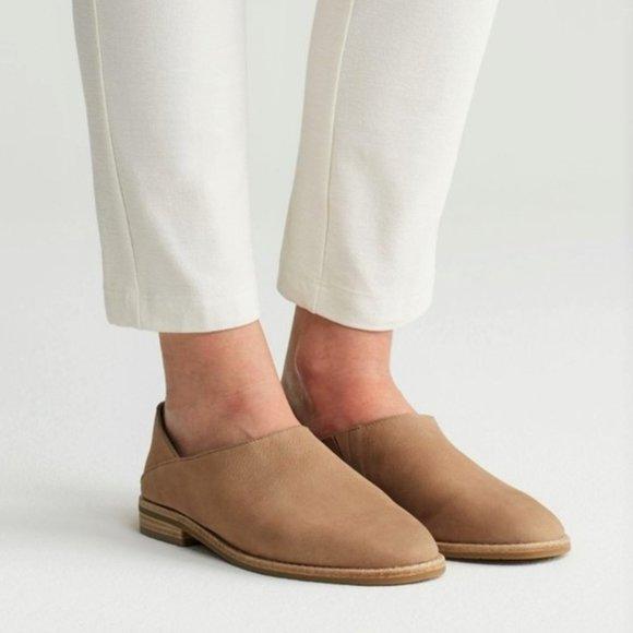 Eileen Fisher | Depan Nubuck Loafers | Size: 6